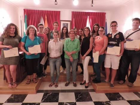 Diputación clausura el curso de Fotografía Digital para jóvenes en Antas