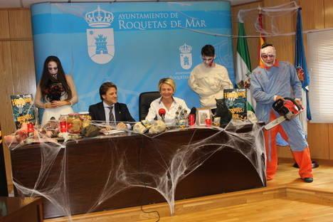 El Ayuntamiento de Roquetas programa actividades para todas las edades en la Noche de Halloween