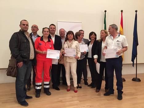Quince centros y unidades de gestión clínica de Almería son reconocidos por su compromiso en el abordaje del dolor