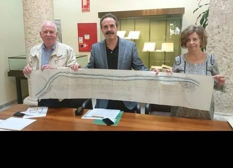 El Archivo Histórico expone el expediente de expropiación de terrenos para el ferrocarril Lucainena-Aguamarga de 1895