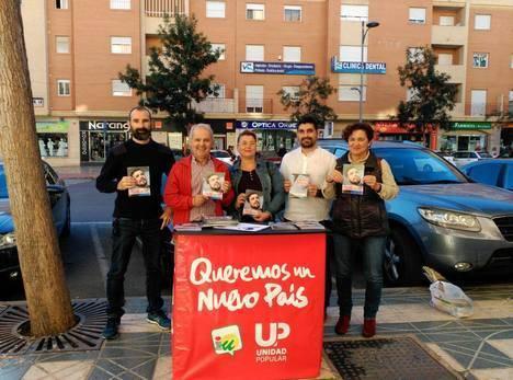 IU Roquetas se vuelca en la campaña de las Generales para lograr un nuevo país
