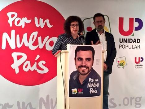 """IU-Unidad Popular presenta su programa electoral elaborado """"para hacer política para la gente, no para cuatro privilegiados"""""""