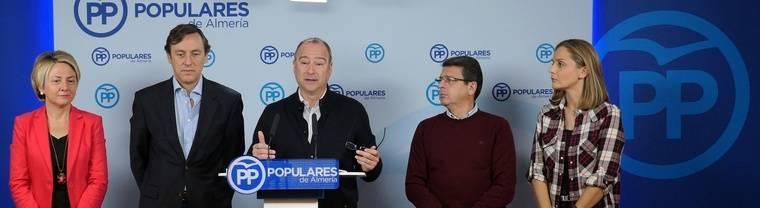 El PP pone en valor sus medidas fiscales frente a las propuestas 'contra Almería' del resto de formaciones