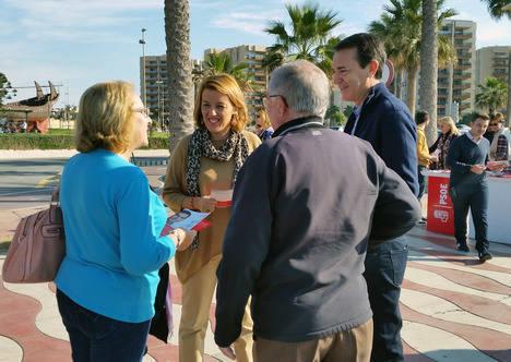 El PSOE apuesta por la mejora de las comunicaciones como medida fundamental para incrementar la llegada de turistas