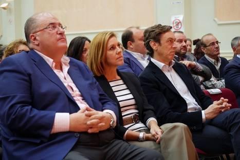 """Rafael Hernando: """"Votar a Ciudadanos en Almería es como pegarse un tiro en el pie"""""""