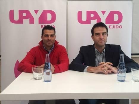 UPyD trae a El Ejido a Gorka Maneiro