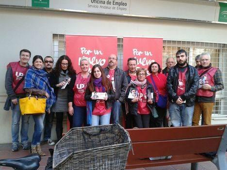 IU aboga por un plan de trabajo garantizado que crearía en Almería 21.000 empleos