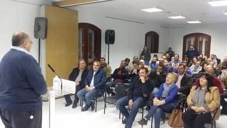 Los candidatos Eloísa Cabrera y Eugenio Gonzálvez alertan sobre los
