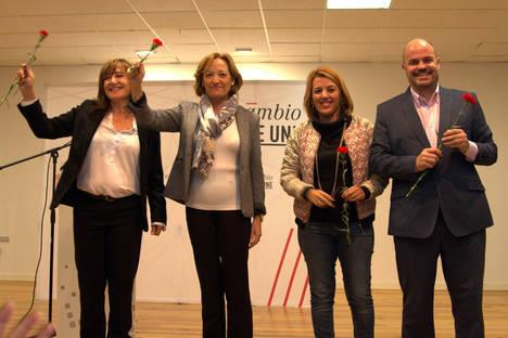 """Sonia Ferrer: """"Somos la única alternativa real y posible frente al retroceso que representa Mariano Rajoy"""""""