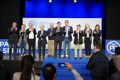 El PP cierra campaña afirmando que sólo ellos han hablado de empleo
