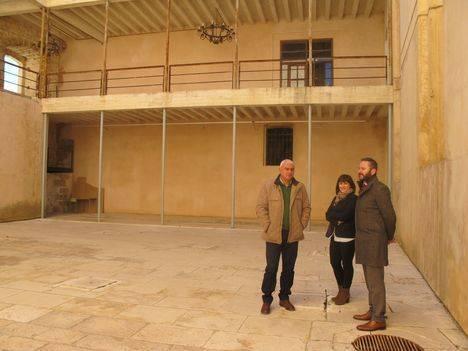 La reconstrucción del Patio del Castillo de Vélez Blanco sigue parada