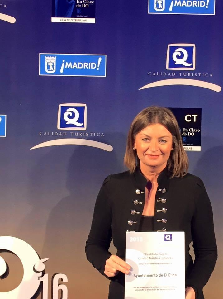 El Ejido recoge los certificados 'Q de Calidad Turística' en la gala organizada por ICTE