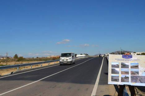 Diputación dotará al puente de Puerto Rey en Vera de una pasarela para peatones y ciclistas