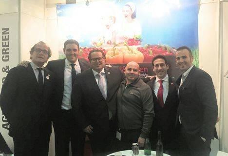 Diputación respalda a un sector que exhibe un modelo de referencia en Fruit Logística