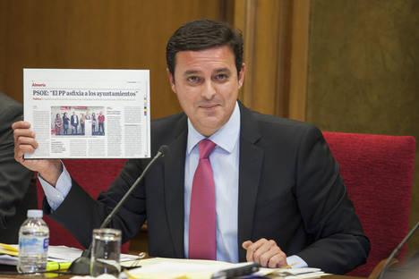 La Junta acumula una deuda superior a los 47 millones con los ayuntamientos de Almería