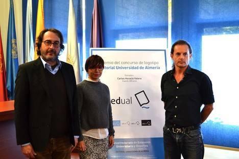Carlos Horacio Valera gana el concurso del nuevo logo de la Editorial Universidad de Almería