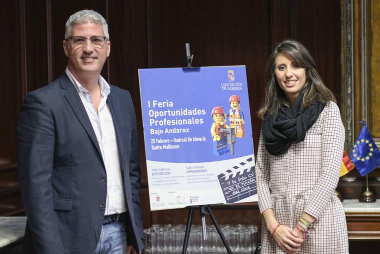 Diputación y Huércal impulsan la 'Feria de Oportunidades Profesionales del Bajo Andarax