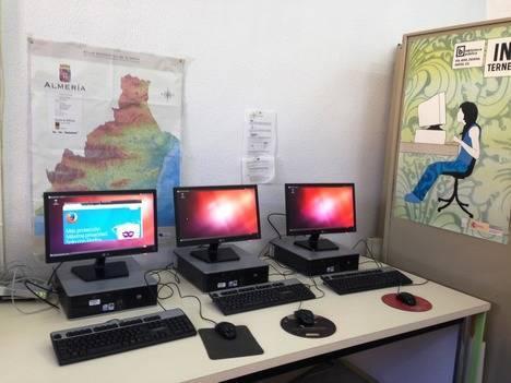 Renovación digital en instalaciones municipales de Vera