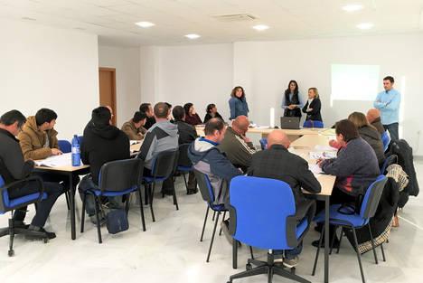 Diputación forma a 20 desempleados del Almanzora como aplicadores de plaguicidas