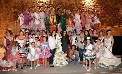 La Moda Flamenca de Carmen Vega viste por segundo año consecutivo el Castillo de San Andrés de Carboneras