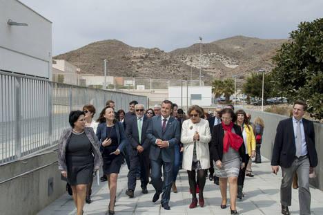 Inaugurado el nuevo Colegio Simón Fuentes de Carboneras