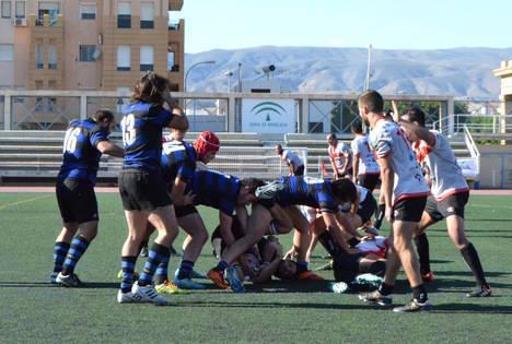 Unión Rugby Almería salva un punto en un mal partido con Ingenieros Industriales