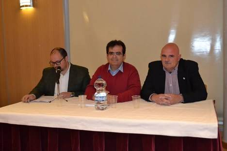 Macael se vuelca con el libro de Andrés Molina Franco editado por el IEA