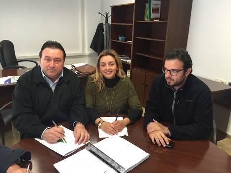 Diputación afianza con Asaja sus lazos de colaboración en materia de Agricultura