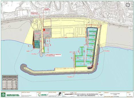 La Junta saca a información pública una nueva dársena deportiva en el puerto de Carboneras con 260 atraques