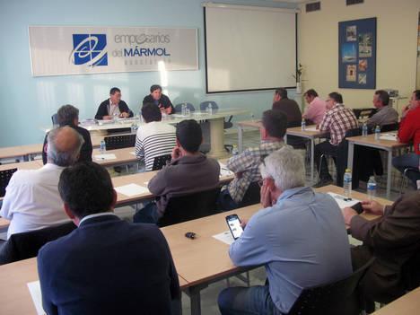 Antonio Sánchez preside su primera Asamblea General desde que fue nombrado presidente de AEMA