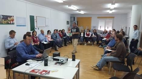 El CADE de Vélez-Rubio acoge un taller para analizar las oportunidades de negocio en zonas rurales de Almería y Granada