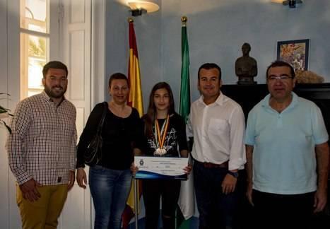 Carboneras concede una beca deportiva a la subcampeona de España de Jabalina