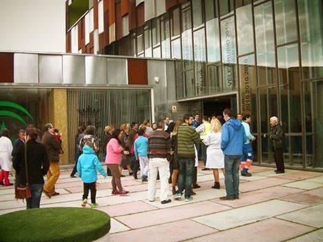 El centro de salud de Vélez-Rubio evalúa su Plan de Autoprotección con un simulacro de incendio