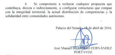 Luis Rogelio afea a Pérez Navas que se despida del Senado absteniéndose en una moción por la unidad de España