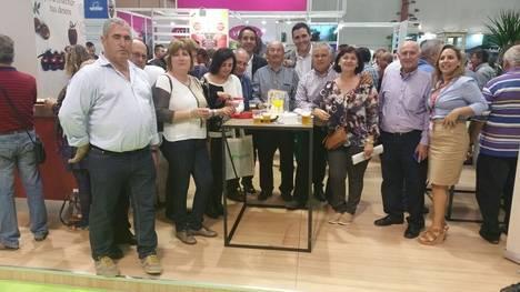 El concejal Juanjo Alonso muestra en Expo Levante el respaldo municipal al sector agrícola