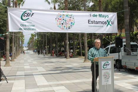 CSIF celebra el 1º de mayo reivindicando el fin del bisindicalismo