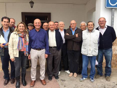 Diputación apoya técnicamente a los regantes de Taberno para actualizar las concesiones hídricas