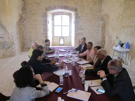 La Junta da los primeros pasos para la licitación de la obra de reconstrucción del Patio del Castillo de Vélez-Blanco