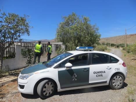 La Guardia Civil detiene al autor del robo con fuerza en una vivienda de Campohermoso-Níjar en la que estuvo de