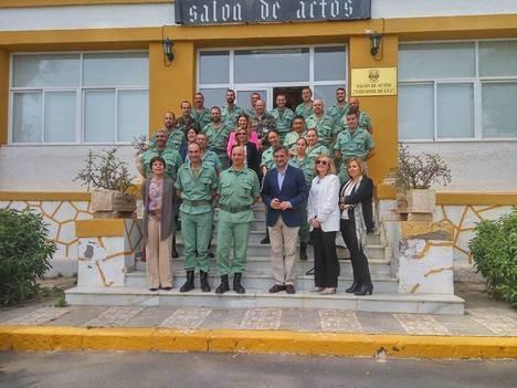 Diputación clausura el curso de mediadores en prevención de drogodependencias para las Fuerzas Armadas