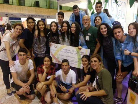 El IES Puebla de Vícar premiado en la XIV Feria de la Ciencia de Sevilla