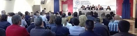El PP de Almería vuelve a apostar por novena vez por Javier A. García como director de campaña
