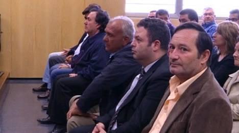 Cuatro de los 25 acusados en la operación Costurero aceptan los hechos y asumen las penas