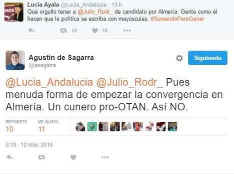 El coordinador de IU en Almería rechaza al exJEMAD como cabeza de lista en las Generales de junio