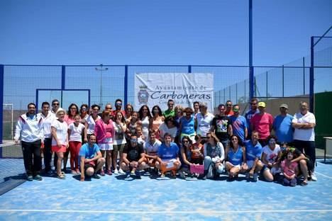 Finaliza con éxito la II edición de la Liga Municipal de Pádel de Carboneras