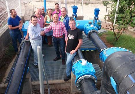 Sol y Arena y Tierras de Almería compartirán el agua para blindar contra la sequía a 12.000 hectáreas de invernaderos