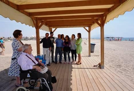 Visita del Delegado de Turismo al Centro de Turismo Accesible de Vera