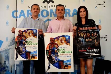 El grupo Medina Azahara estrella de las Fiestas de San Antonio 2016 de Carboneras