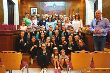 El Ayuntamiento de Vera felicita a las alumnas de la escuela de Danza Martina por los triunfos cosechados