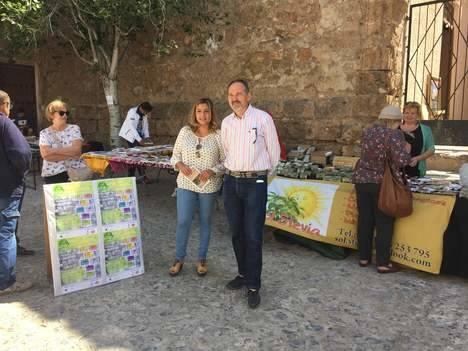 Diputación con la agroecología de Almócita
